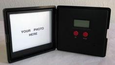 1995 AVON GIFT COLLECTION TRAVEL ALARM CLOCK/PHOTO FRAME/NIB