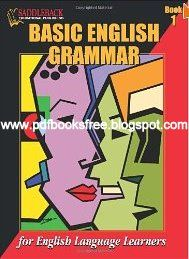 This two-book series was written specifically for English language learners and covers all the basic grammar topics for beginners. Contains clear and concise explanations of the rules and illustrates them with numerous examples. Basic English Grammar Book, Basic Grammar, English Book, English Lessons, English Vocabulary, Teaching English, Learn English, Grammar Check, The Rules