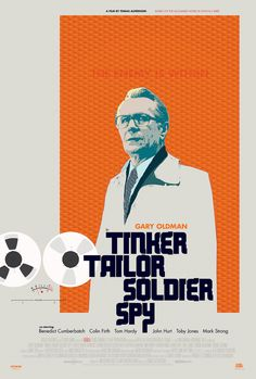 Alternative poster for the theatrical release of Tinker Tailor Soldier Spy.