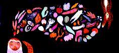 Vysokokvalitná reprodukcia.Giclée print - pigmentová tlač, rozmer cca 50x23 cm. Daniela Olejníková - Liek pre Vĺčika Útla knižka pre deti a ich rodičov o sile priateľstva v nepohode a o tom, že cesta býva občas cieľom. Illustrators, Wreaths, Halloween, Decor, Decoration, Door Wreaths, Illustrator, Deco Mesh Wreaths, Decorating