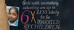 Because I am a Girl - Why Girls? | Promoting Gender Equality