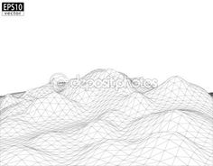 3D Wireframe Terrain