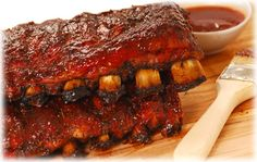 Barbecue starts with ribs