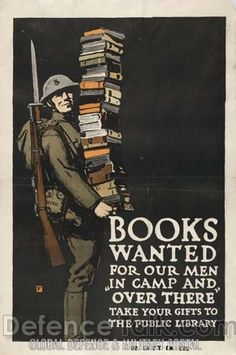Books Wanted, British poster #propaganda #worldwar2