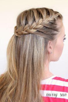 How to french braid bangs crazyforus sminke og hr pinterest 50 fabulous french braid hairstyles to diy ccuart Gallery