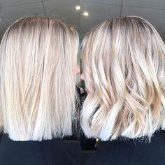 Blonde Balayage, Blonde, Balayage, Straight, Platinum