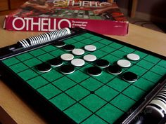 Othello game. Me and my sister used to play this all the time!