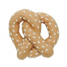 Pretzel rattle baby toy