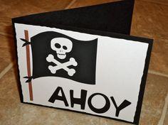 Cute Pirate Party Invitations!