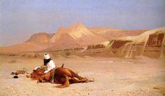 Gérôme - The Arab and his Steed - Jean-Léon Gérôme - Wikipedia