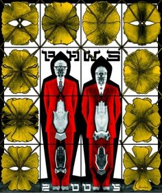 'Art for all' is the belief that underpins Gilbert & George's art. Gilbert & George began creating art together in 1967 when they met at St Martins School of Art, and from the beginning, in their films and 'LIVING SCULPTURE' they appeared as figures Gilbert & George, Double Photo, Korean Art, Documentary Photography, Land Art, Light Art, Art World, Installation Art, New Art