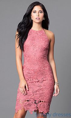 Shop racer-back party dresses and wedding-guest dresses at Simply Dresses. Blue cocktail dresses and knee-length homecoming party dresses. V Neck Wedding Dress, Princess Wedding Dresses, Best Wedding Dresses, Wedding Attire, Cocktail Dresses With Sleeves, V Neck Cocktail Dress, Bright Dress, Homecoming Dresses, Party Dress