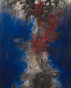 PREVIEW– Willem de Kooning x Zao Wou-Ki will be on view at #LévyGorvy New York starting January 19, 2017. _________ Image: Zao Wou-Ki, 'La nuit remue' ('the night is stirring'), 1956. Oil on canvas, 76 x 51 3/16 inches (193 x 130 cm). The Art Institute of Chicago, Gift of Mr. and Mrs. Samuel Kootz. Courtesy The Art Institute of Chicago #dominiquelevygallery #dekooning #zaowouki