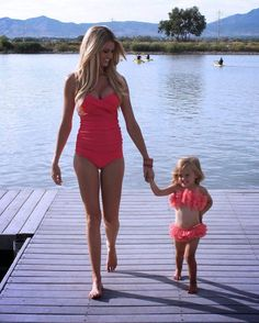 """❤  """"I love to go swimming, but our bathing suits never got wet."""""""