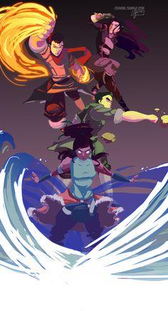The Legend of Korra - ceshira Avatar Legend Of Aang, Korra Avatar, Team Avatar, Legend Of Korra, Avatar Cartoon, Avatar Funny, The Last Avatar, Avatar The Last Airbender Art, Zuko