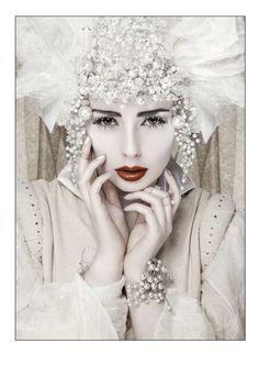 Ice Queen ~    Photographer | Deborah Selwood  Make-Up Artist | Sarah Feist Hair Stylist | Kate Thomson  Model | Liv Free