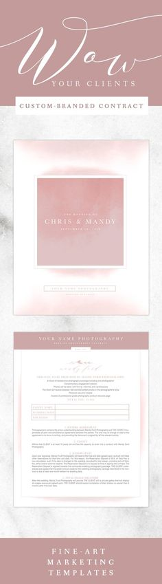 Wedding Photography Pricing Guide Template  Wedding Pricing Guide