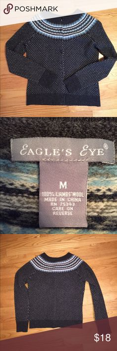 Gray lambs wool cardigan sweater Gray lambs wool cardigan sweater. Worn only a handful of times and dry cleaned. Great condition. Size medium Sweaters Cardigans