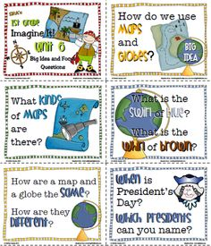 OCR - Imagine It! Phonics focus and unit words with BIG IDEA questions. Bloom's Taxonomy anyone? :) Unit 6