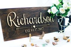 This sign is a wonderful decoration in your house for the living room, or will be a unique wedding or anniversary gift for the couple. All our signs we produce manually. Product entirely made of wood. We carefully select each board, and then paint to give your sign a textured appearance, it serves as a rear plate background. Then, from another piece of wood we cut out the name and date of which are mounted on top of the background due to the thickness of the wood to create a 3D effect…