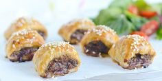 Beef and Veggie Sausage Rolls