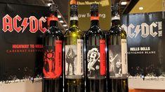 Φαίνεται πως τα ροκ συγκροτήματα έχουν μια ιδιαίτερη αδυναμία στο κρασί αφού και οι AC / DC, το γνωστό αυστραλέζικο χάρντ ροκ συγκρότημα έχει κυκλοφορήσει τα Back in Black Shiraz', 'You Shook Me All Night Long Moscato', 'Highway to Hell Cabernet Sauvignon' και το 'Hells Bells Sauvignon Blanc' εμπνευσμένα από τίτλους πασίγνωστων τραγουδιών τους.