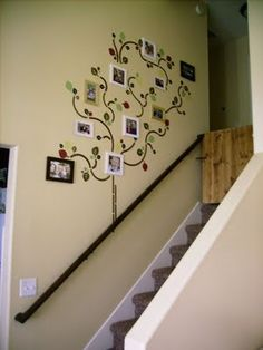 Family tree....want something similiar to this.....but much more prim...what a great idea!!