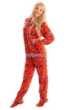 Ironman - Marvel Comics - Pajamas Footie PJs Onesies One Piece Adult  Pajamas Adult Pajamas 726bfee28