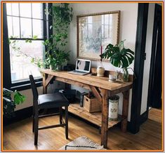 37 Classy Bedroom Office Space Ideas, home decor ideas, Rustic Office Decor, Home Office Decor, Diy Home Decor, Bedroom Office, Modern Bedroom, Contemporary Bedroom, Gray Bedroom, Modern Rustic Office, Bedroom Rustic