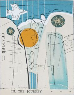 Amy Chapman  Collagraph over Collage  The Journey
