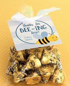 Planning a baby shower? Check out these Bumble Bee Baby Shower Tags. Bumblebee Favor Tags. Gender Neutral, Boy, Girl Baby Shower Thank You Tag. Thanks For Beeing Here Hang Tag