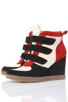 Sneaker Wedges von Topshop