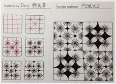 How to draw POMX2 « TanglePatterns.com
