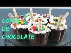 COPOS DE CHOCOLATE - YouTube