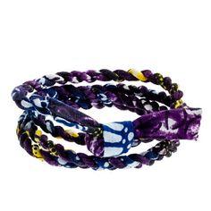 Indego Africa™ for J.Crew cloth wrap bracelet
