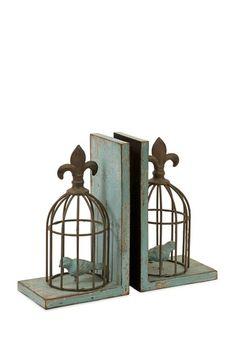 Birdcage Bookends - Set of 2 on HauteLook