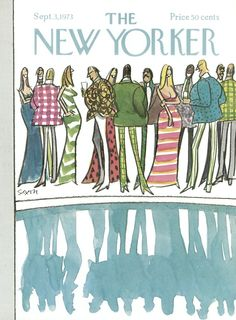 The New Yorker - Monday, September 3, 1973 - Issue # 2533 - Vol. 49 - N° 28 - Cover by : Charles Saxon