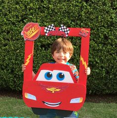 Trendy Cars Disney Party Ideas Photo BoothsYou can find Disney cars and more on our Trendy Cars Disney Party Ideas Photo Booths Hot Wheels Party, Festa Hot Wheels, Hot Wheels Birthday, Car Themed Parties, Cars Birthday Parties, 2nd Birthday, Happy Birthday, Cars Themed Birthday, Birthday Ideas
