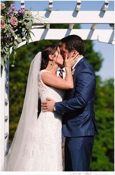 We have come to learn recently that when we have a UConn couple, we can expect an amazingly beautiful wedding (we're looking at you, Ali & Joe and Christina & Stephen! Liz and Matt… Wedding Dj, Mystic, Floral Design, Hair Makeup, Couples, Wedding Dresses, Photography, Beautiful, Fashion