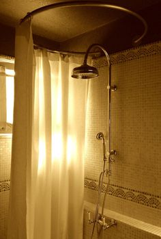 lion shower curtain rods and curtain rods on pinterest. Black Bedroom Furniture Sets. Home Design Ideas