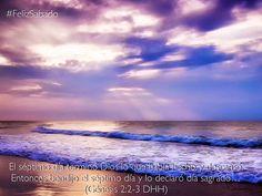 El sábado es un pedazo de eternidad lleno del amor de Dios #FelizSabado
