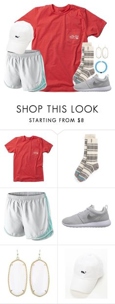 laughing so hard, no noise coming out. so you sit there clapping like a retarded seal. by kaley-ii on Polyvore featuring NIKE, Kendra Scott and Stance