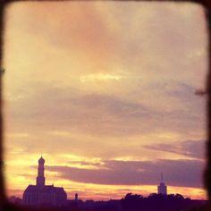 City Skyline Augsburg