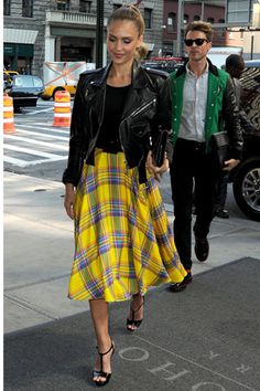 Ralph Lauren yellow skirt