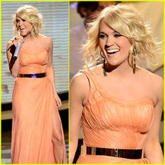 """Carrie Underwood on American Idol performing her newest single """"See You Again"""""""