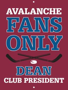 Avalanche Custom Personalized Bar Sign  by thepersonalizedstore #ManCave #FathersDay #Groomsmen