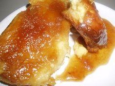 Creme Brulee Croissant French Toast Casserole - make at night, bake next morning