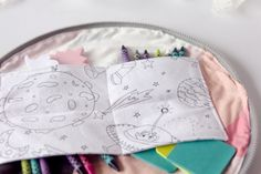 half circle zip pouch by see kate sew | Project | Sewing / Kids & Baby | Bags & Purses | Accessories | Kollabora