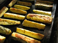 Make and share this Parmesan Crusted Zucchini recipe from Food.com.