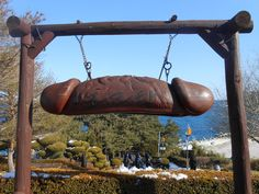 Haesindang Park or Penis Park in Seongnam, South Korea has plenty of phallic sculptures and penis shaped objects. Penises are a necessity in this place so that they can appease the spirit of the dead maiden who drowned in the sea.